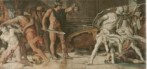 Annibale Carracci - Perseo y Phineas