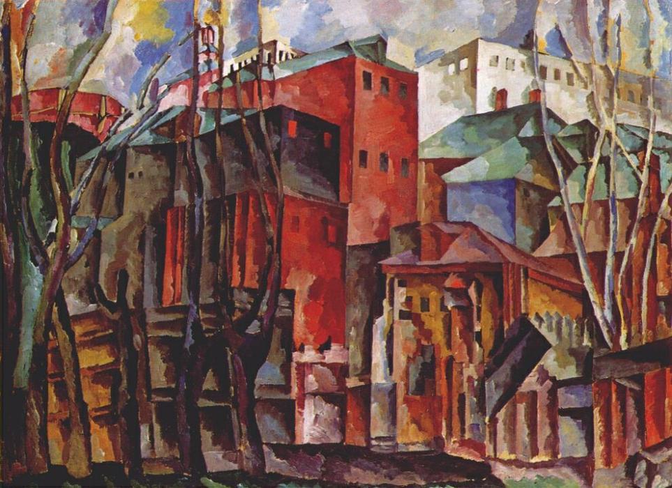 Resultado de imagen para Pinturas de Aristarkh Lentulov (1882-1943)