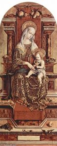 Carlo Crivelli - Madonna Enthroned
