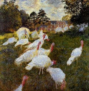 Claude Monet - El Pavos