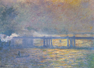 Claude Monet - Puente de Charing Cross