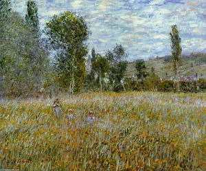 Claude Monet - prado