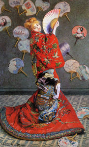Claude Monet - Japan's  ( Camille Monet in Japanese Costume )