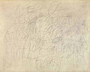 Cy Twombly - academia