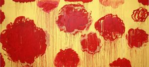 Cy Twombly - Untitled (serie Peonias)