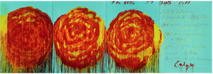 Cy Twombly - El Rose (II)