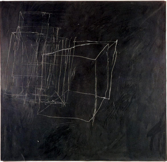 noche ver, 1966 de Cy Twombly (1928-2011, United States) |  | WahooArt.com