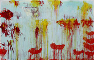 Cy Twombly - Lepanto, el panel 11