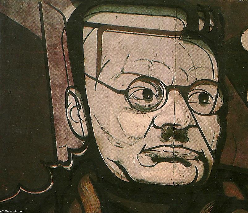 Mural de orozco de david alfaro siqueiros 1896 1974 mexico for El mural de siqueiros