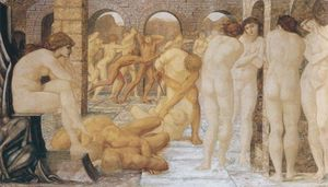 Edward Coley Burne-Jones - Venus Discordia