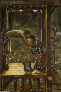 Edward Coley Burne-Jones - El Misericordioso Knight