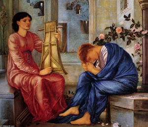 Edward Coley Burne-Jones - El Lamento