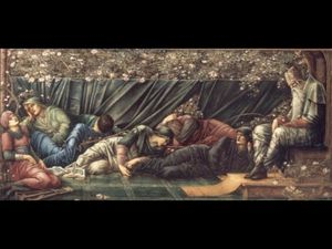 Edward Coley Burne-Jones - La Cámara del Consejo