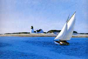 Edward Hopper - El largo de la pierna