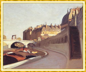 Edward Hopper - The Quaid Grands Augustins