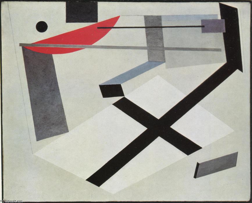 Proun 30 T de El Lissitzky (1890-1941, Russia)