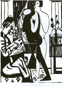 Ernst Ludwig Kirchner - Pintor y Modell