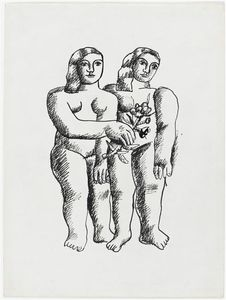 Fernand Leger - dos mujeres dos  hermanas