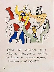 Fernand Leger - 'The album ''Circus''' ( 15 )