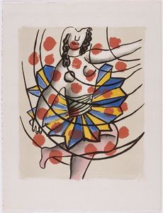 Fernand Leger - -The album --Circus--- ( 27 )