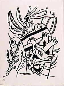 Fernand Leger - 'The album ''Circus''' ( 43 )