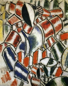Fernand Leger - El Sitted Mujer