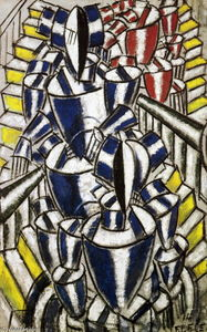 Fernand Leger - El Staircase