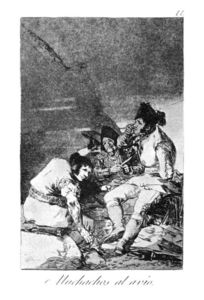 Francisco De Goya - lads` conseguir on con el Job