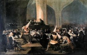 Francisco De Goya - Escena Inquisición