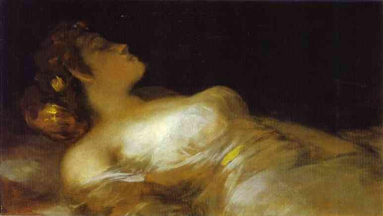 Dormir de Francisco De Goya (1746-1828, Spain)