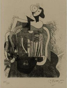 Georges Braque - mujer sentada