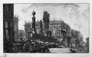Giovanni Battista Piranesi - Vista del Capitolio
