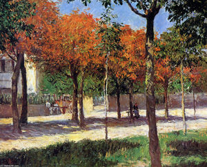 Gustave Caillebotte - cuadrado in Argenteuil