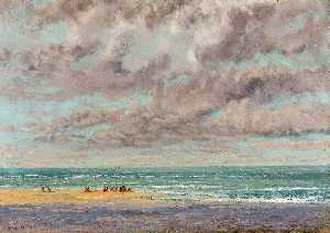 Gustave Courbet - Les Marines Equilleurs