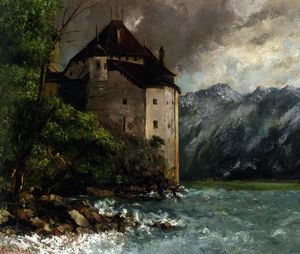 Gustave Courbet - castillo de chillon