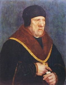 Hans Holbein The Younger - Sir Henry Wyatt