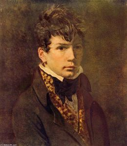 Jacques Louis David - Retrato de la Joven Ingres