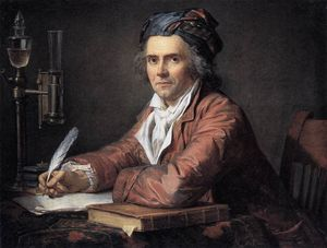 Jacques Louis David - Retrato de Alfonso Leroy