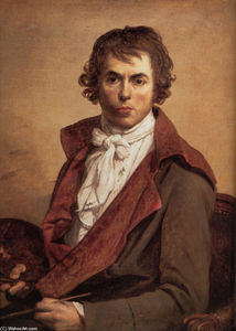 Jacques Louis David - autorretrato