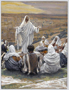 James Jacques Joseph Tissot - La oración del Señor