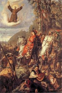 Jan Matejko - Bohdan Khmelnytsky with Tugai Bey near Lviv