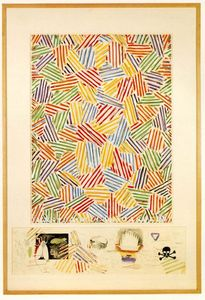 Jasper Johns - cigarra