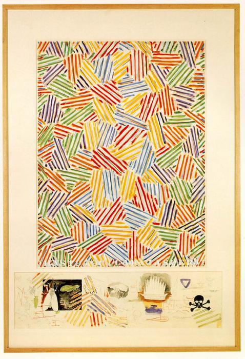 cigarra de Jasper Johns