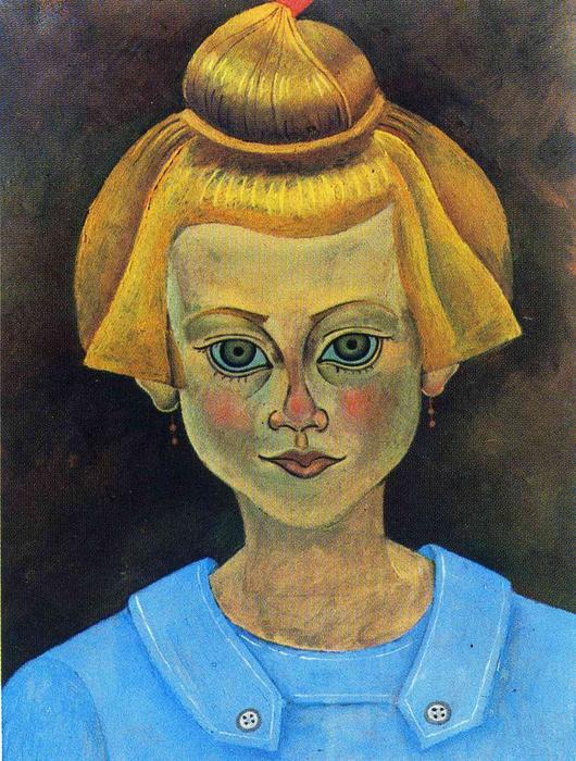 Manierismo. - Página 4 Joan-Miro-Portrait-of-a-Young-Girl