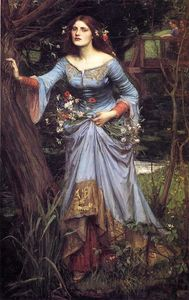 John William Waterhouse - Ofelia