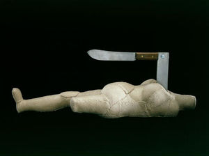 Louise Joséphine Bourgeois - mujer-cuchillo