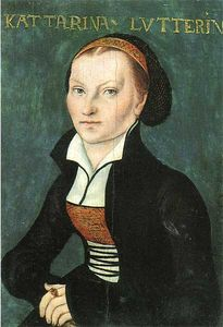 Lucas Cranach The Elder - Katharina Luther