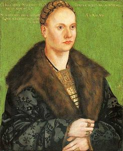 Lucas Cranach The Elder - Christoph von Scheurl