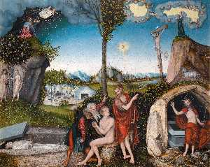 Lucas Cranach The Elder - Ley y Gracia