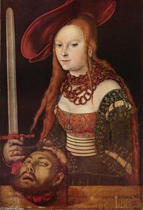 Lucas Cranach The Elder - Judith